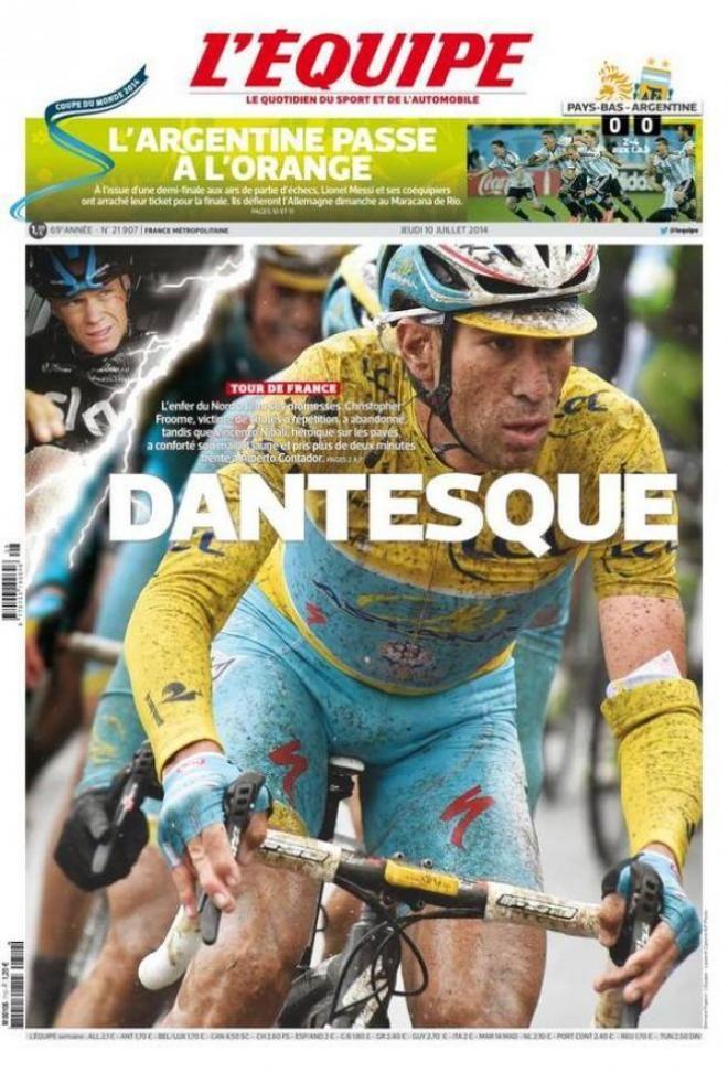 Emozioni forti al Tour de France Oggi sesta frazione la