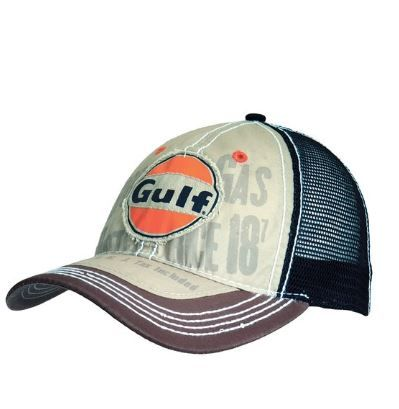 ee6de642f20 Gulf - Mens Gulf - Patch Logo Adjustable Baseball Cap Multi