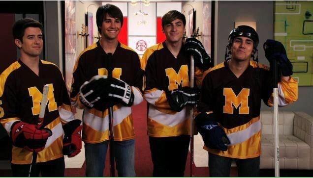4 meninos de Minnesota #5YearsOfBigTimeRush