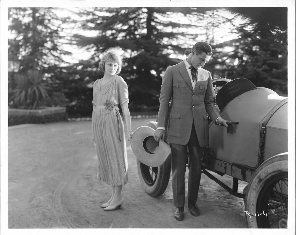 THE ROAD DEMON (1921) Tom Mix and Claire Anderson Silent Film Auto ...