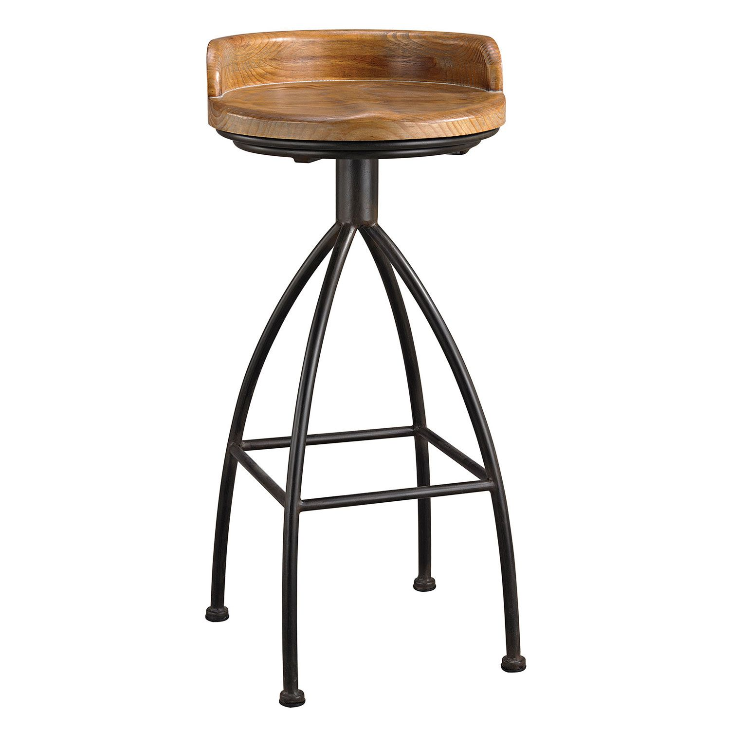 Natural And Industrial Styles Converge To Create The Soho Stool