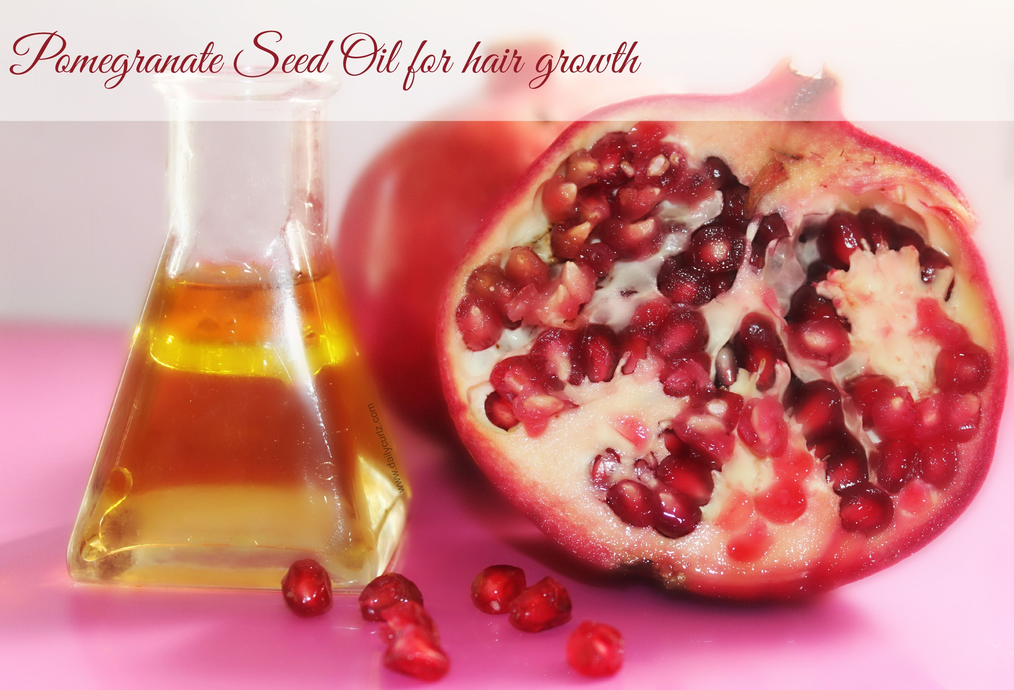 Benefits Of Pomegranate Seed Oil For Hair Beneficios Del Aceite