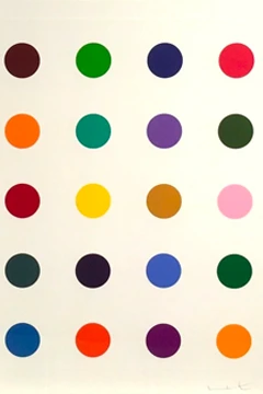Ala Met By Damien Hirst Homeless Penthouse In 2020 Damien Hirst Hirst Canvas Print Display