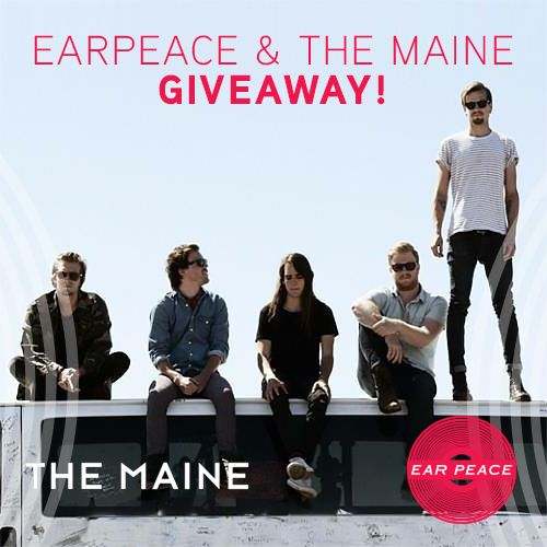 "Winner for our giveaway with The Maine has been announced! They will receive free EarPeace hi-fidelity ear plugs and The Maine's ""Forever Halloween"" album!"
