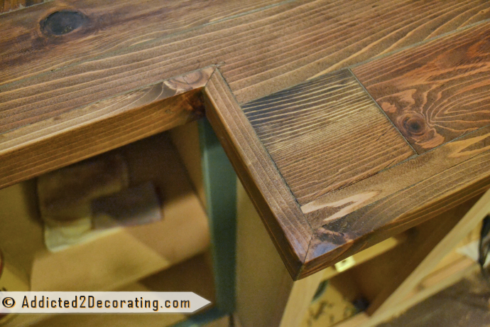 My Diy Wood Countertop Is Finished Well Almost Addicted 2