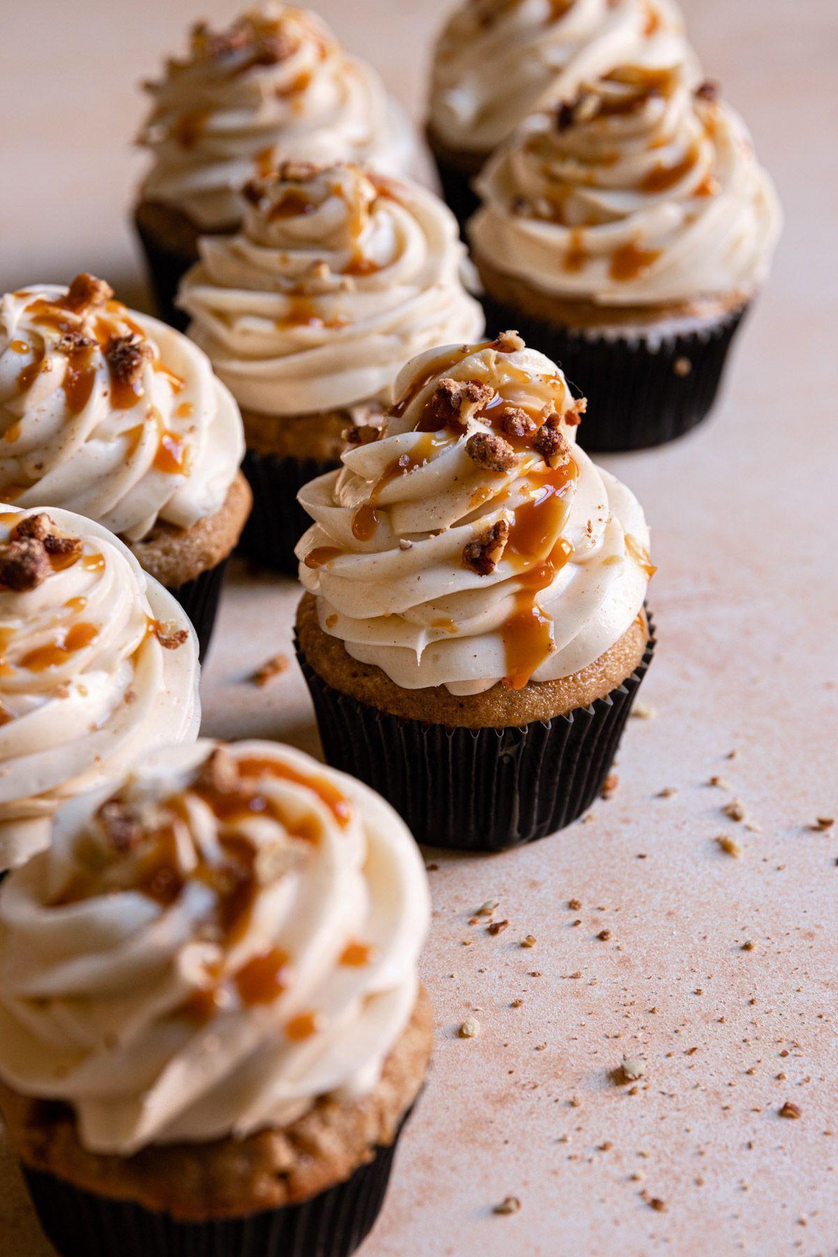 Chai Cupcakes Are Little Comforting Cakes Bursting With Warm Spices Rezept Kuchen Und Torten Kuchen Rezepte Rezept Fur Cupcakes