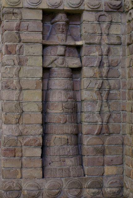 Berlin Pergamonmuseum Teil Der Fassade Des Inanna Tempels Des Kara Indasch Aus Uruk Part Of The Front O Ancient Sumer Ancient Civilizations Ancient Sumerian