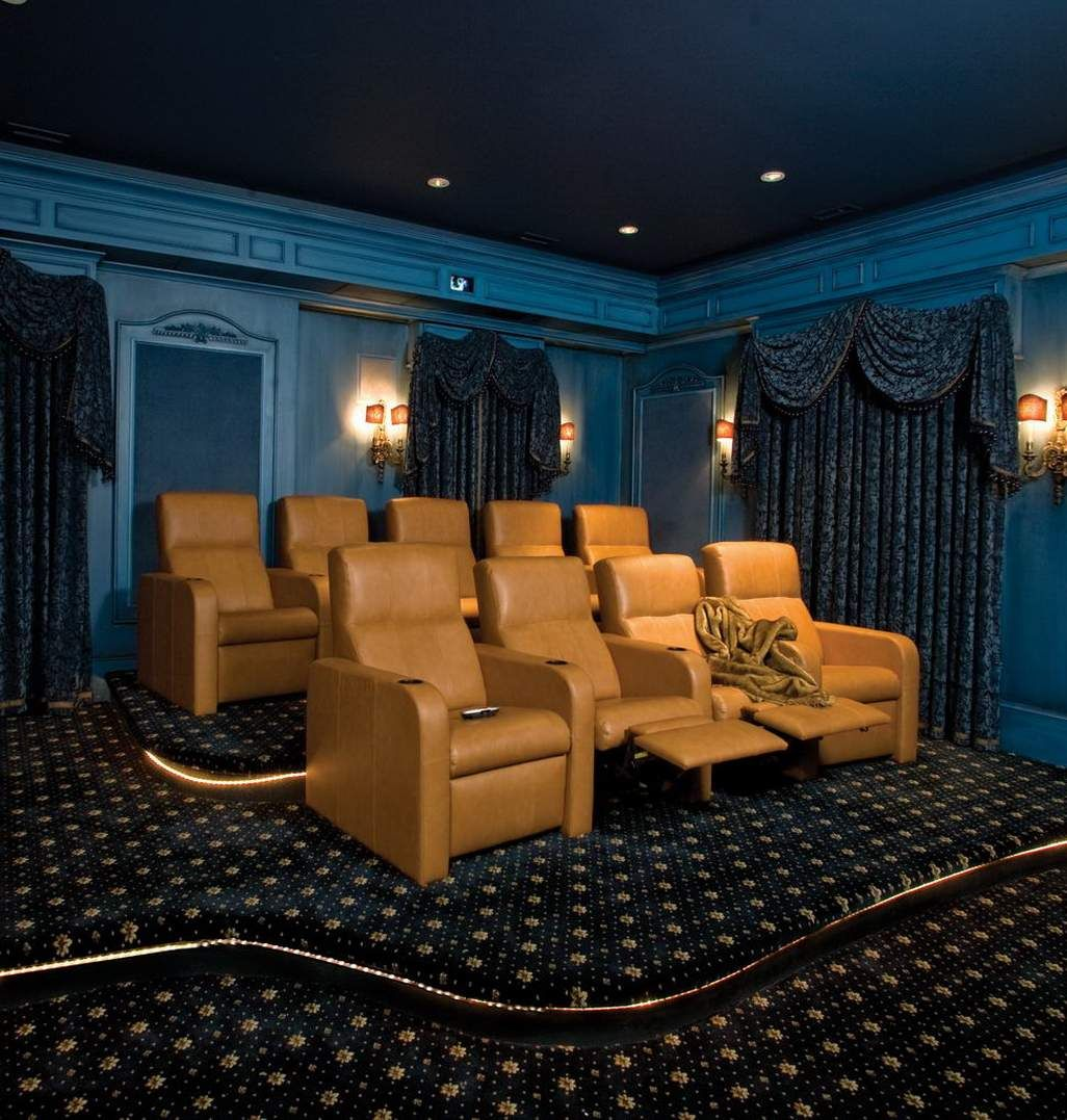 Beautiful Style Home Theater!