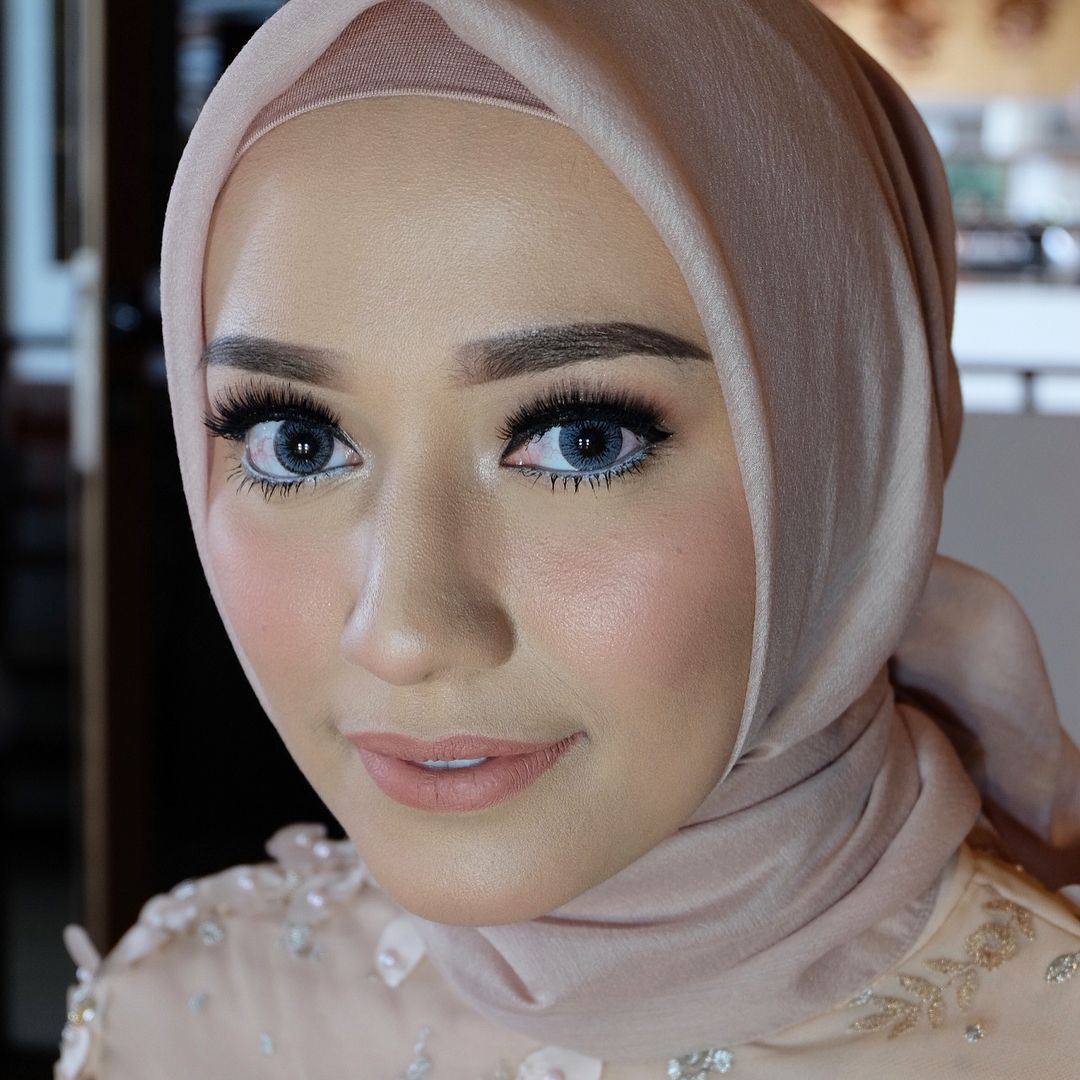 Hijab Engagement Muslim Brides Engagement Makeup By Fitaangela