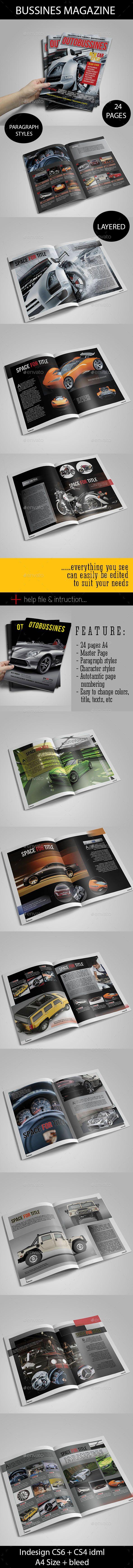 Otobussines Magazine Template #design Download: http://graphicriver.net/item/otobussines-magz/12436885?ref=ksioks