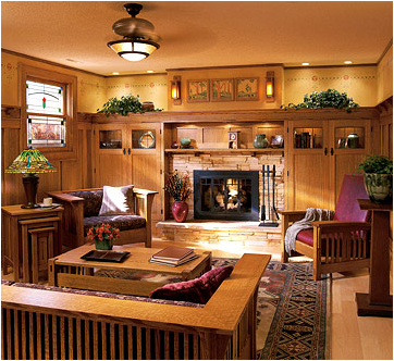 Arts And Crafts Living Room Design Ideas Craftsman Living Rooms Mission Style Furniture Arts And Crafts Interiors