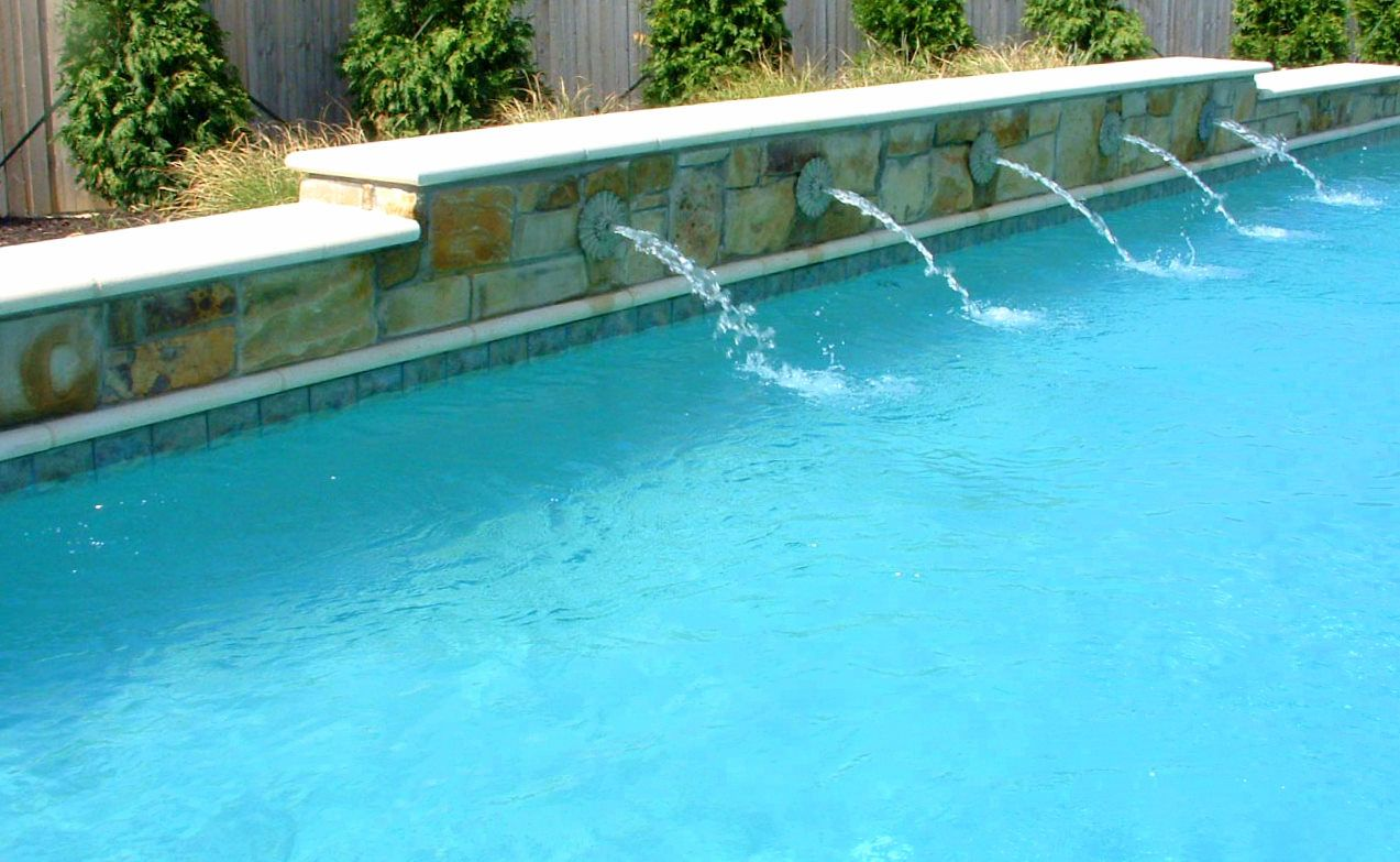 Water features pool denali pools water features gallery for Water pool design