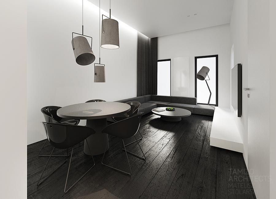 Flat interior design , łódź | TAMIZO ARCHITECTS