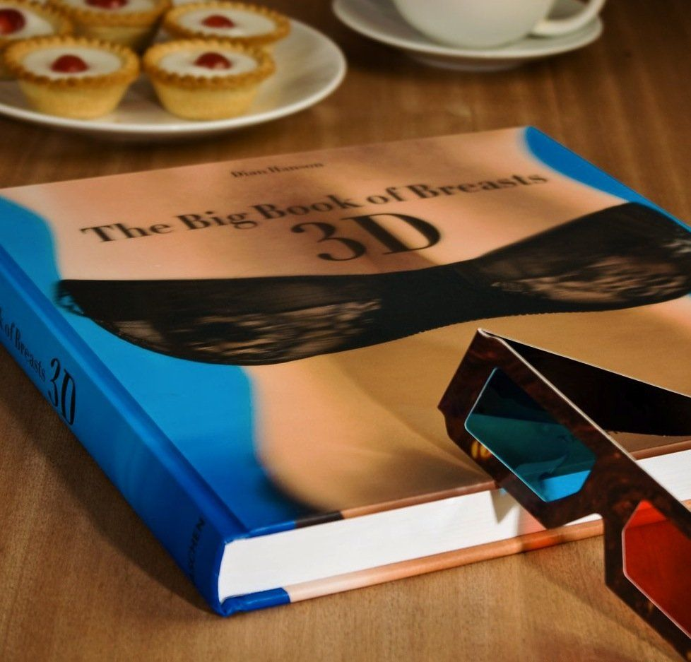Hardcover with 3D glasses 28 x 28 cm, 220 pages. $40 | Gifts for ...