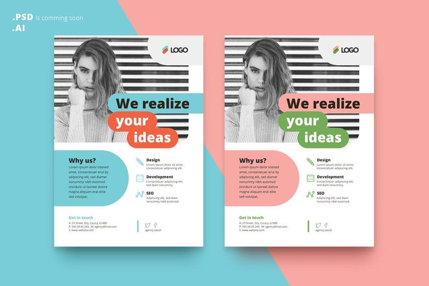 38 Stylish Flyer Templates Designlearn Adobe Illustratoradobe