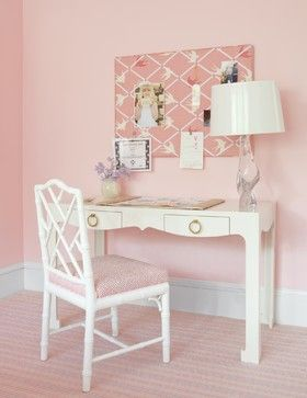 Desk and board!  Bedrooms - traditional - kids - other metro - Laura Wilmerding Interiors
