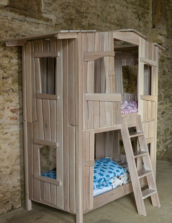 the tree house bunk bed   bunk beds   pinterest   bunk bed, tree
