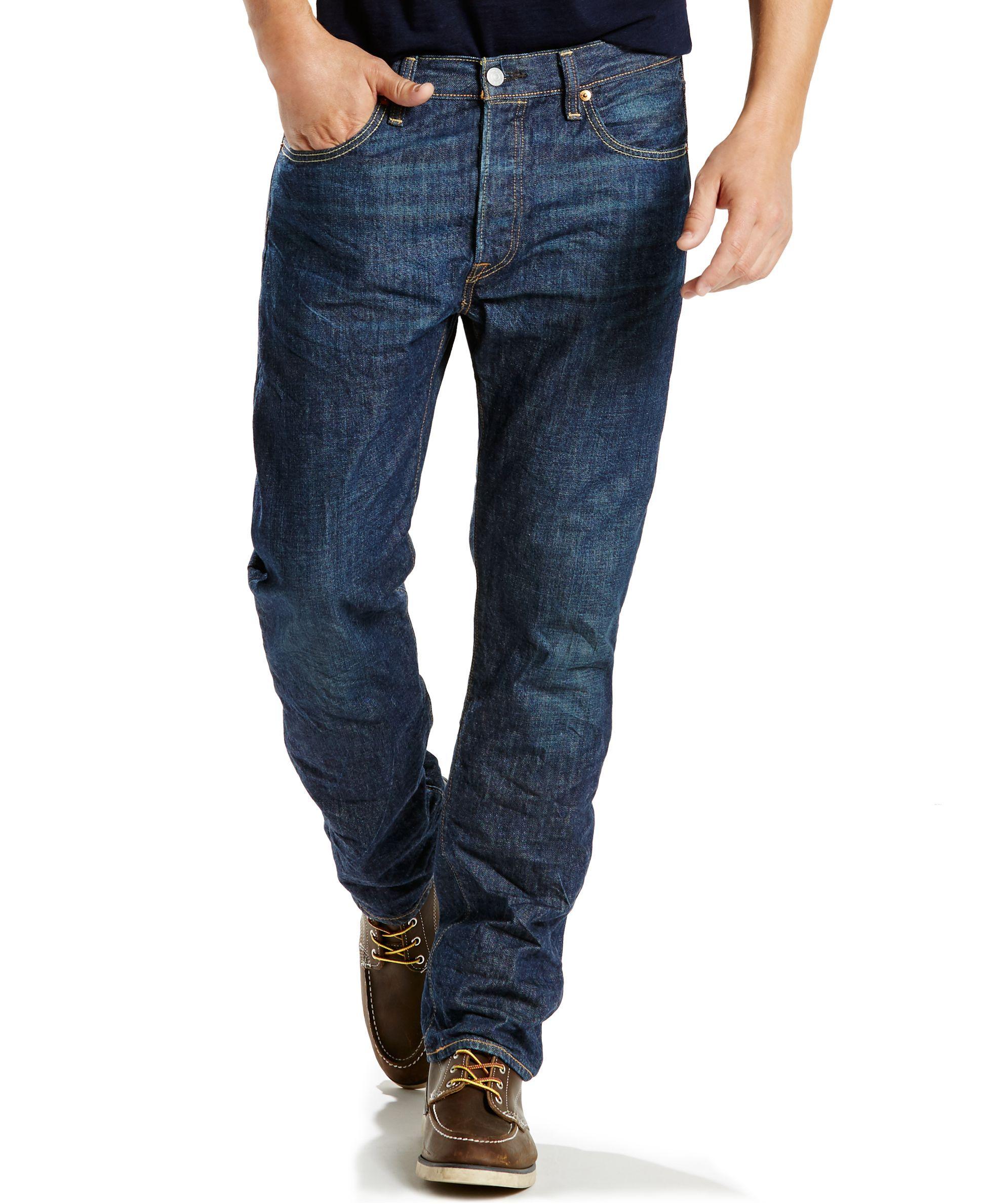 8ef8703d9dd Levi's 501 Original-Fit Just Lived In Wash Lightweight Jeans ...