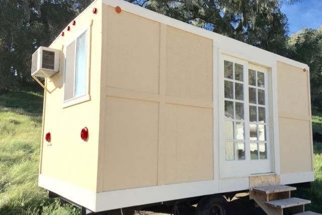 House Mobile Office Trailer Tiny House Home Bathroom Granny unit