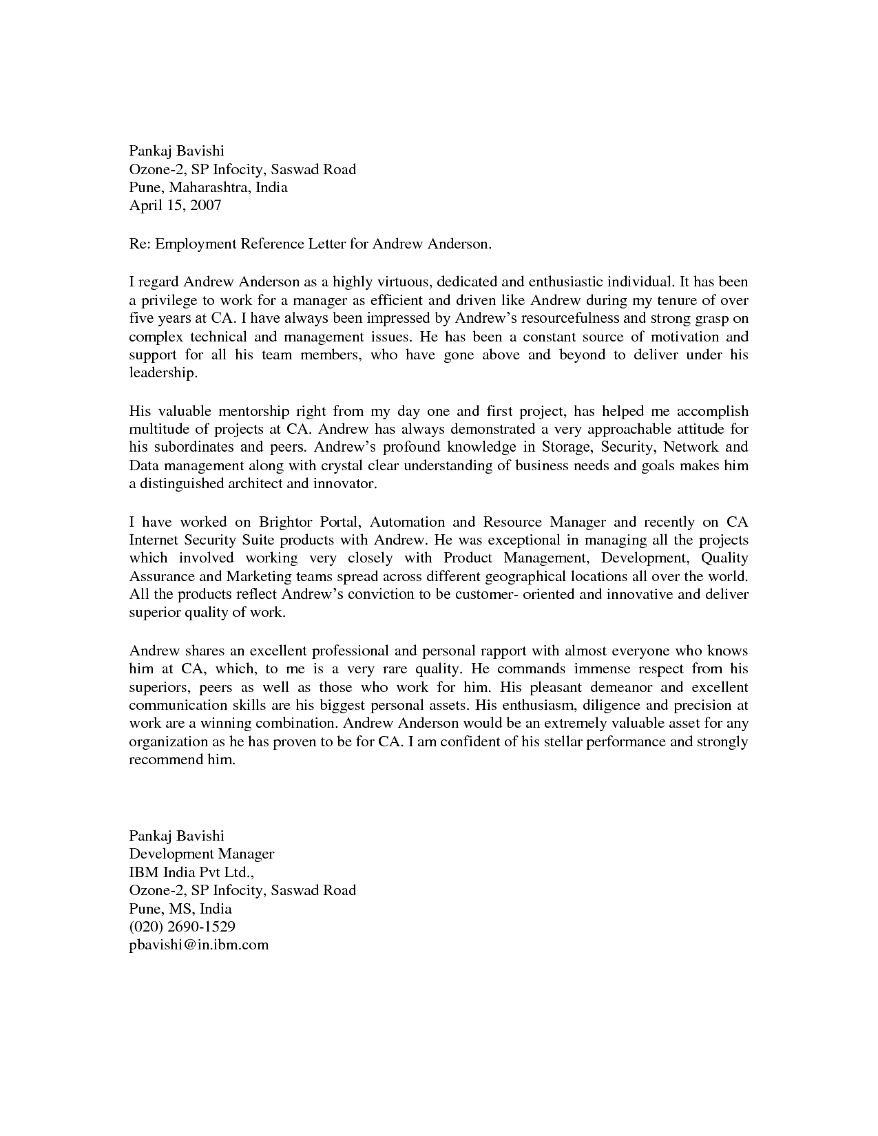 Work Reference Letters Online Business MoneyReference Letter – Letter of Recommendation for Job