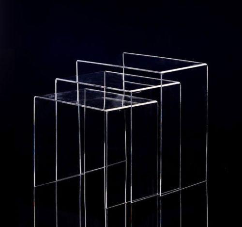 3er Set Beistelltisch Aus Acrylglas Beistelltisch Acrylglas Couchtisch