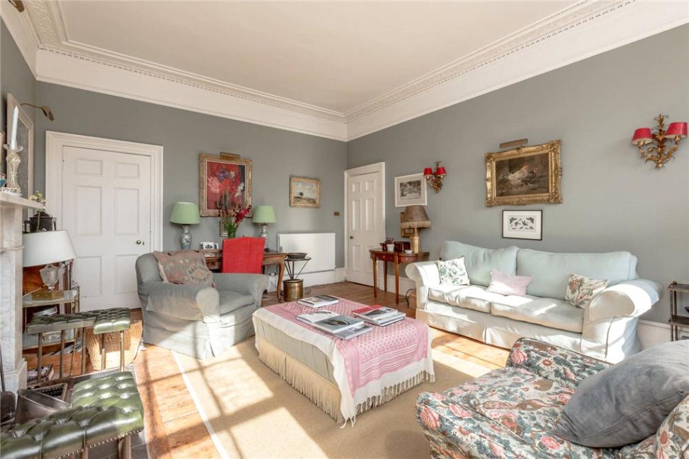 flat for sale in Saxe Coburg Street, Stockbridge ...