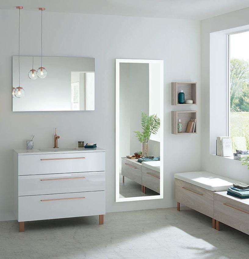 Gamme Halo, meuble salle de bain design - Sanijura Salle de bain