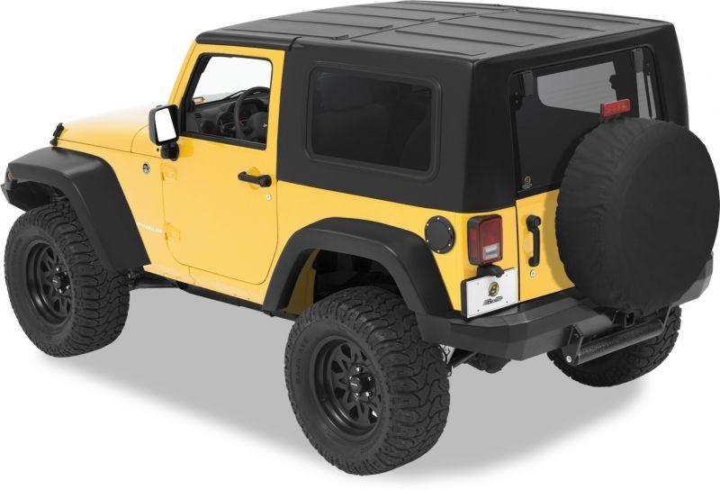 Keystone Restyling 2 Piece Hardtop In Black For 07 12 Jeep