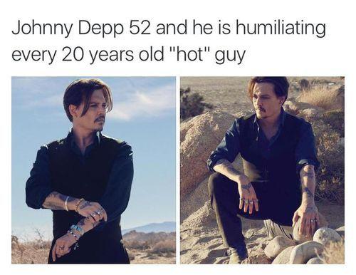 Johnny Depp uploaded by Harry Potter ϟ on We Heart It