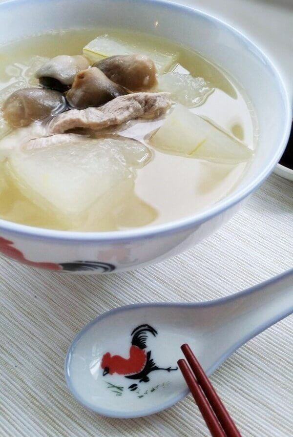 Chinese Winter Melon Soup #wintermelon