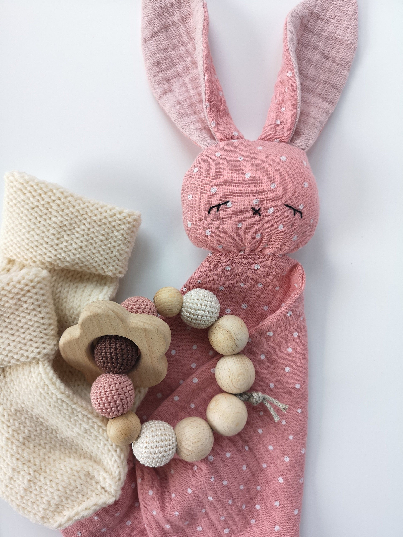 Baby Shower Gift Set Wool Socks For Newborn Teether Baby
