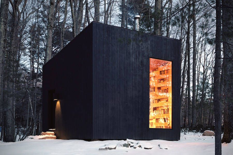Minimalist Cabin minimalist norwegian wooden cabin in new york | architecture