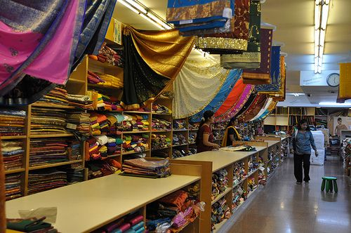 37b5254bdd Saree shop in Little India | Singapore | Saree shopping, Luxury ...