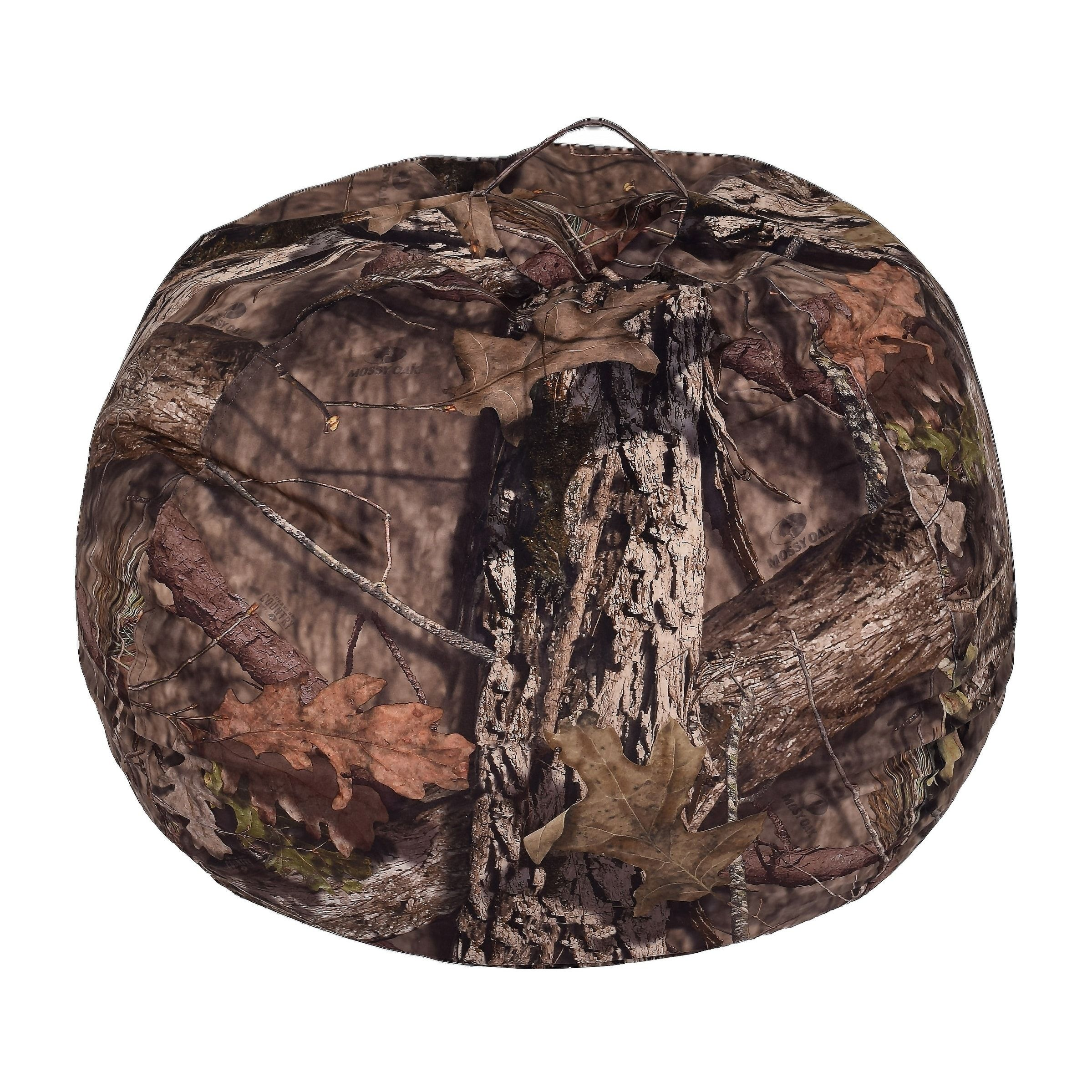 Mossy Oak Brown Bean Bag Xlarge Size Jumbo Fabric Brown Bean