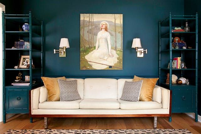 A Small Space Painting Trick that Makes Rooms Look Larger | Painting ...