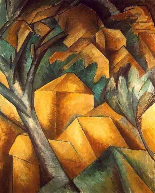 Cubism Part Dos Kunstmuseum Georges Braque Kubismus