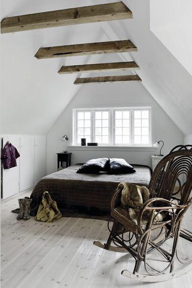 Dachboden Ruckwand Fenster Schlafzimmer Einrichten
