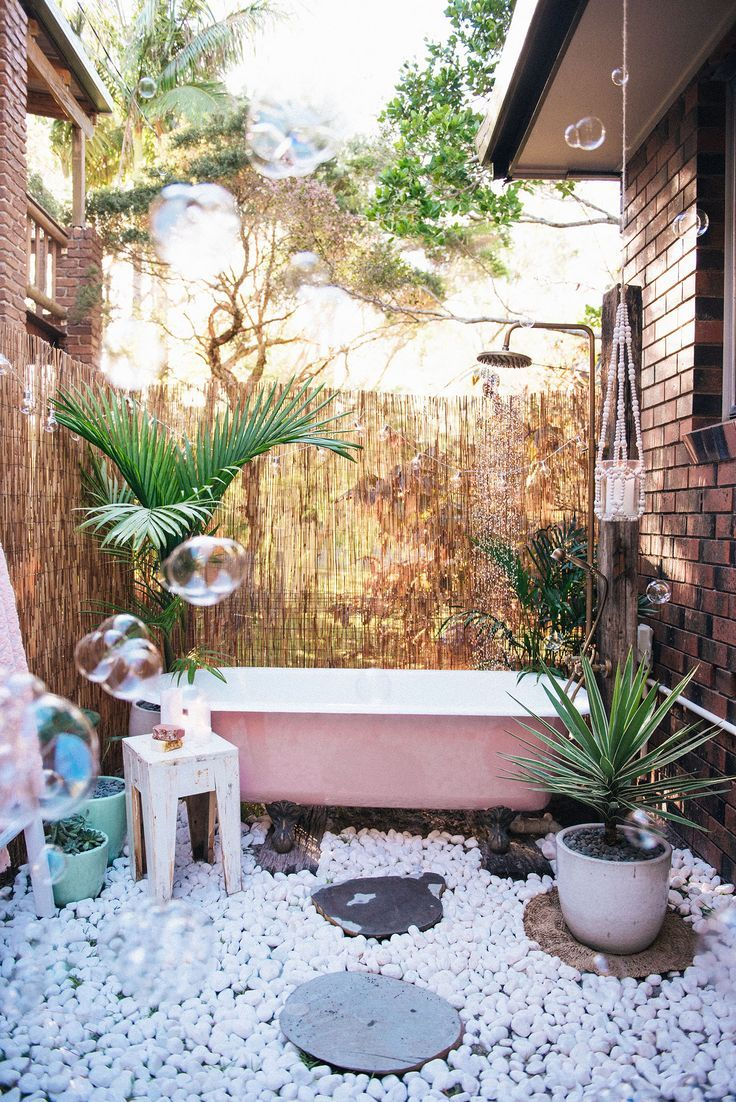 Interior Garden Bath vacation everyday and style our house like a beach www outdoor bath spell the gypsy collective