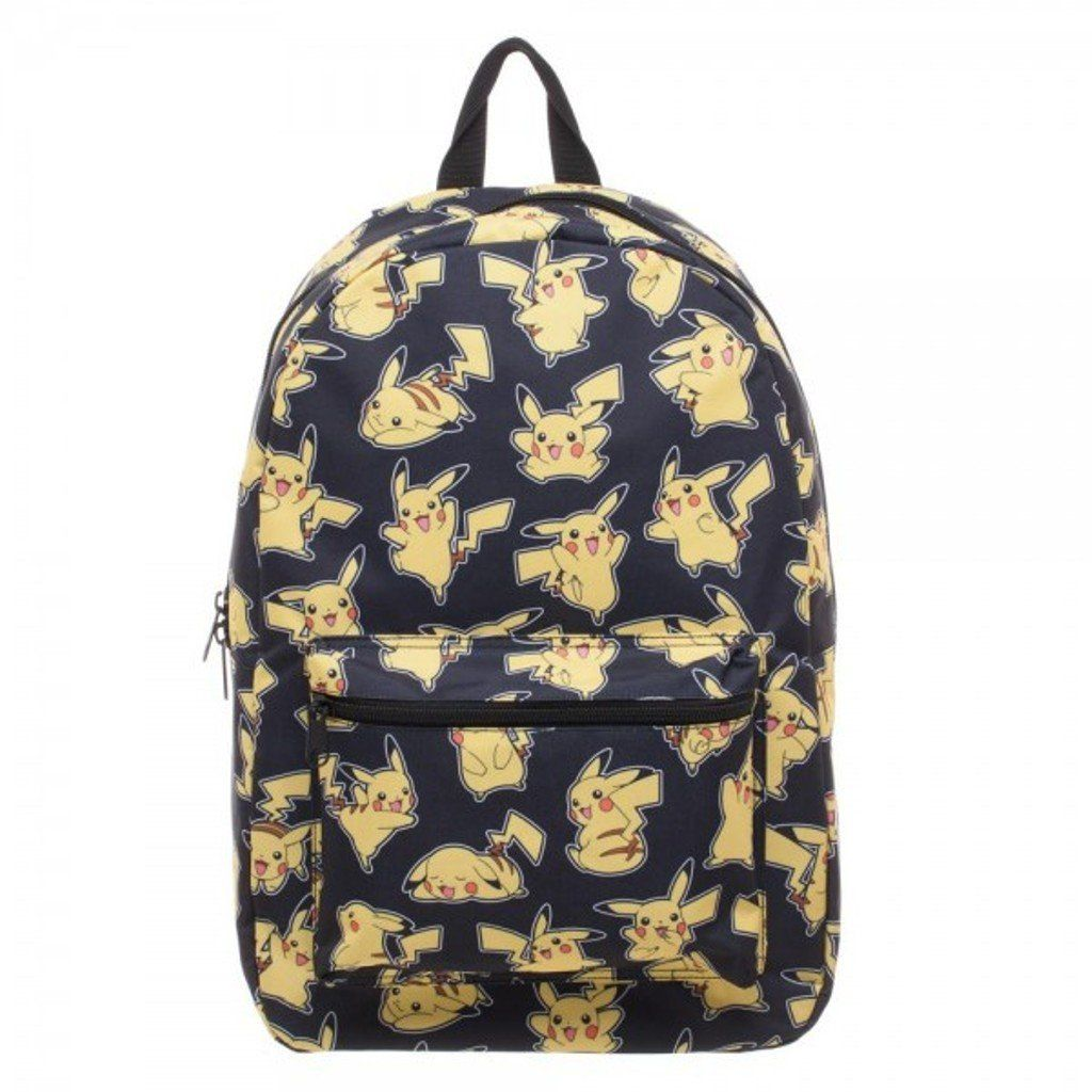 Nintendo Pokemon Go Pikachu Collage Licensed Adult Backpack School ...