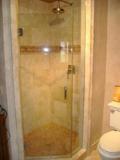 neo angle shower frameless - Google Search | neo angle frameless ...