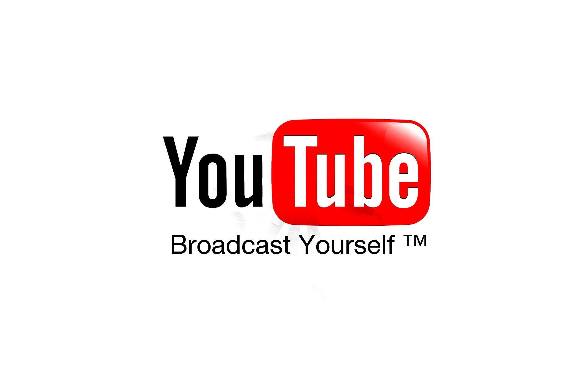 youtube logo information portal high contrast hd