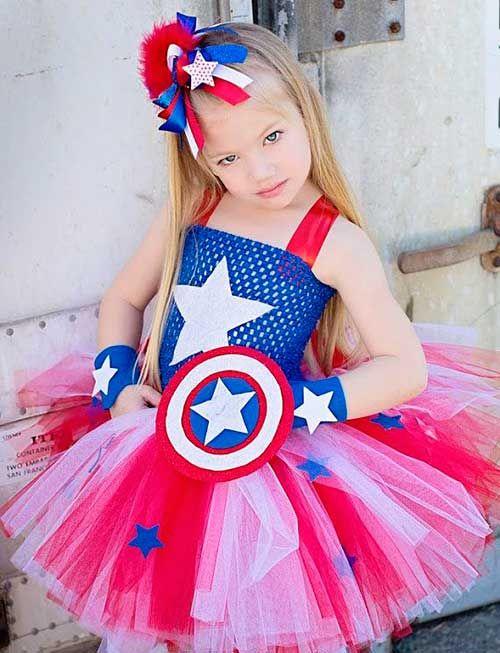 Capitán_América_Niña   fiesta infantil   Pinterest   Capitán américa ...