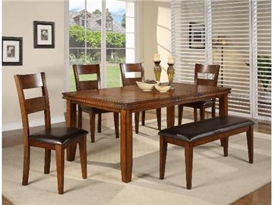 Shop For Crown Mark Dining Table 2101T 4278 And Other Room