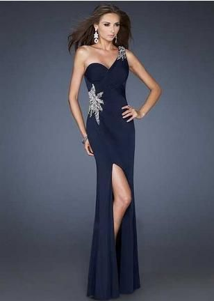 Navy Blue Prom Dresses Cheap - Ocodea.com