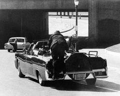 Clint Hill '54 was a Secret Service agent assigned to protect several presidents, as well as first lady Jacqueline Kennedy. He was in the motorcade in Dallas on Nov. 22, 1963, when President Kennedy was assassinated. Hill is credited with saving Mrs. Kennedy's life.   #kennedy #assassination #JFK #secretservice #cordmn #cobber