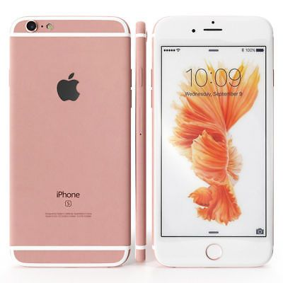 Details about Apple iPhone 6s 64GB Rose Gold/Gold/Silver