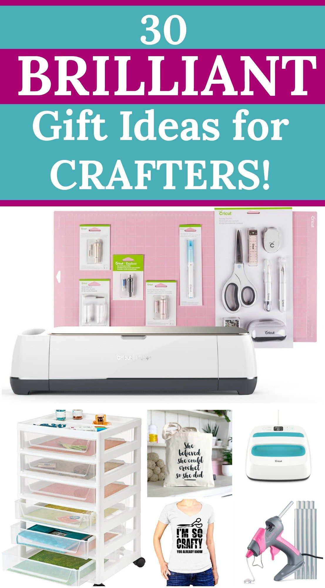 Gift Ideas For Crafters 30 Brilliant Gifts For Crafters Your Christmas Gift Guide To Shopp Christmas Projects Diy Diy And Crafts Sewing Easy Christmas Crafts