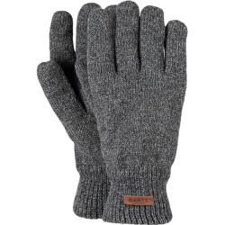 Photo of Barts Herren Handschuhe / Fingerhandschuhe Haakon Gloves, Größe S-M in heather grey, Größe S-M in he