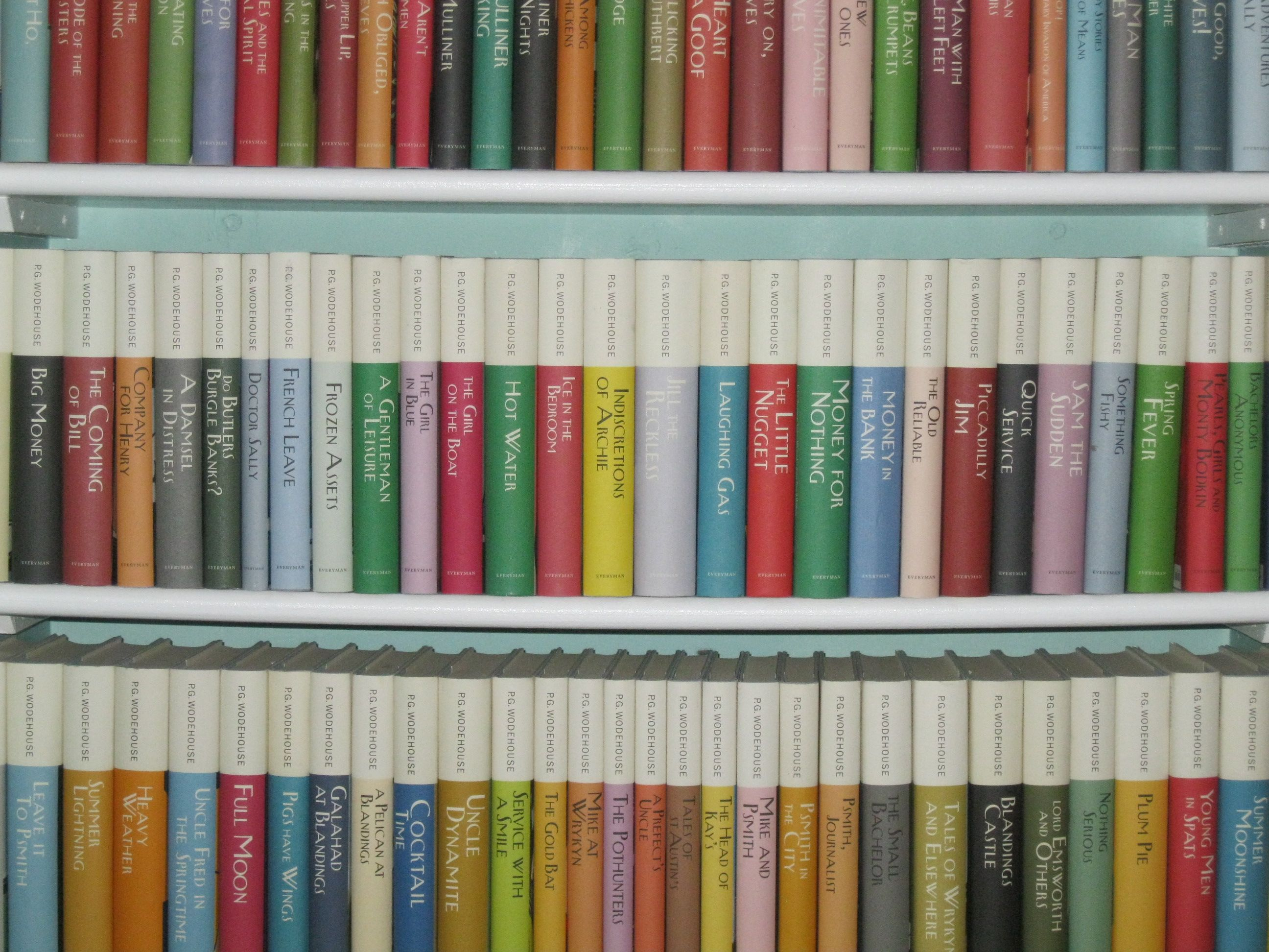 Almost all the novels of p g wodehouse in the everyman library almost all the novels of p g wodehouse in the everyman library edition fandeluxe Image collections
