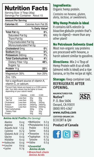 Nutiva Organic Coconut Oil Hemp Seed Chia Seed Red Palm Oil Hemp Protein Nutiva Hemp Protein Hemp Protein Powder
